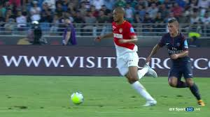 Monaco vs PSG result livescore, 30 jul 2017