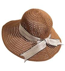 khaki 1 Alleza Sun Hat Wedding Summer Women Ladies Straw ...