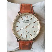 buy rolex online in kaymu pk rolex leather strap watch for men