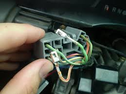 wire s coming out of wire harness windshield wiper turn signal they wires have little ends on them that are supposed to snap into the harness but they aren t i think i am going to push them all the way in and then