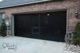screened in garage doorCheck out my new Garage Screen  So AWESOME  Shanty 2 Chic