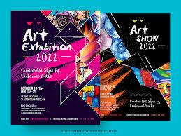 Art Event Flyer Art Show Event Flyer By Satgur Design Studio On Dribbble