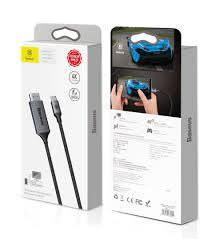 Cáp chuyển USB Type C sang HDMI Baseuhỗ trợ xuất Video 4K - 60Hz(1 mét –  Baseus Việt Nam