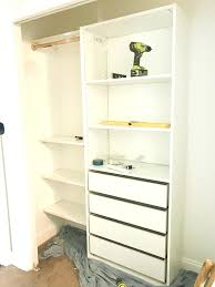 closet storage systems simple system to save your collections contemporary wardrobe ikea
