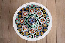 Mosaic Tray Table