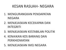 Image result for imej rasuah