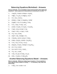 free balancing equations 34