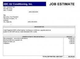 Job Quote Template Excel Job Estimate Template Free Quotation Templates Estimate