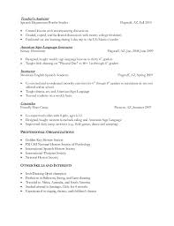 Resume For Spanish Teacher Images. 4 ...