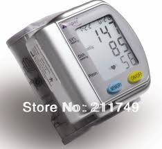 Free Shipping CE Approved Blood Pressure Monitor <b>digital</b> wrist ...