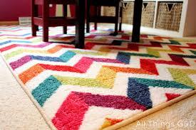 mixed color chevron mohawk rugs for floor decoration ideas