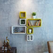 wooden decornation cube rectangle wall