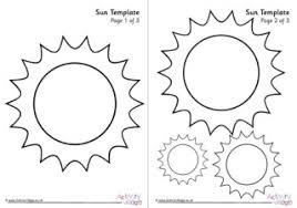 Sun Template Printable Sun Template 2