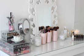 room tour malm dressing table and make up collection you luxuryroomdecor com