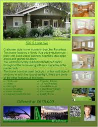 homes for pasadena ca example of a property flyer fact sheet homes for pasadena ca example of a property flyer fact sheet getinthehouse