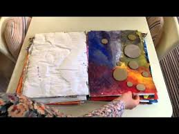 A  GCSE Art   Coursework folder part     YouTube
