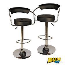 adjustable bar stool – bar height  arcade cart