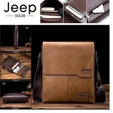 JEEP BULUO <b>High Quality</b> PU Leather Sling Bag <b>Men's Shoulder</b> ...
