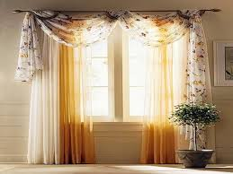 Modern Curtain Designs For Living Room Living Room Curtain Ideas Modern Flower Window Steel Stained