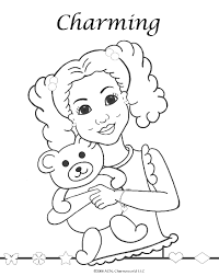 Small Picture Coloring Pages for African American girls Charmz Girl Maya