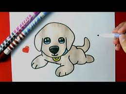 Small Picture How to Draw a Cute Puppy EASY YouTube