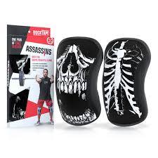 Rocktape Knee Sleeve Size Chart Rocktape Knee Sleeves Skull Assassins 5mm