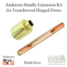 andersen handle extension kit discontinued extender and spindle bright br