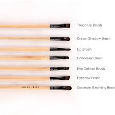 their uses makeup make up brush set brushes with name 13 photos of the diffe types