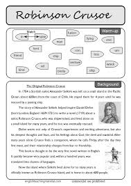 best th grade literature images middle school  robinson crusoe lesson plan