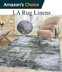silver rug 8x10 fluffy shimmer modern thick plush soft pile living room bedroom floor rug silver rug 8x10 post