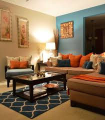 ... Large Size Of Living Room:blue And Brown Decorating Ideas Brown And Blue  Lounge Ideas ...