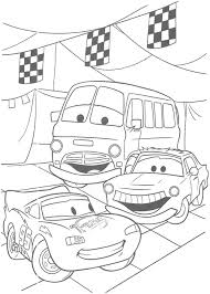 Free Coloring Pages Cars Disneylll