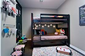 kids bedrooms with bunk beds. Plain Kids Neutral Contemporary Kidu0027s Bedroom With Bunk Bed Kids Bedrooms Beds A