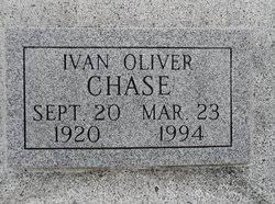 Ivan Oliver Chase (1920-1994) - Find A Grave Memorial