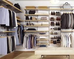 appealing organizer closet system design with interesting elfa shelving and cozy pergo flooring