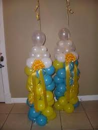 Baby Bottle Balloon Decoration Balloon baby bottle ballons decoration Pinterest Baby 19