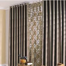 attractive living room curtains decorating with luxurious and noble european style living room curtains brown