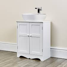 projects design white under sink bathroom storage cabinet unit