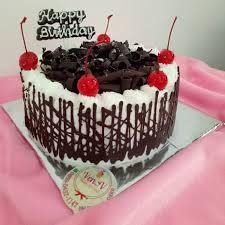 Jual Kue Tart Ulang Tahun Blackforest Gateau Classic Birthday Cake