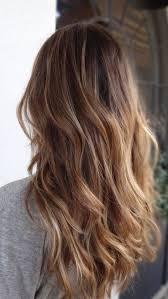 Brown To Blonde Balayage Hair Style