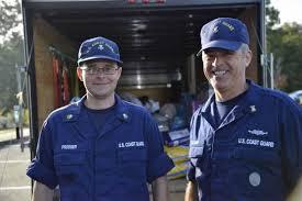 When Hurricanes Come The U S Coast Guard Goes Inland