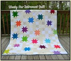 Star Retirement Quilt Tutorial & Wonky Star Retirement Quilt Tutorial Adamdwight.com