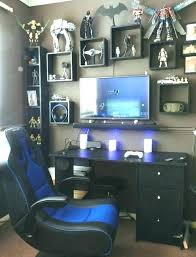 Game Room Ideas 2018 Gaming Room Decor Blue Is The Coolest Color ...