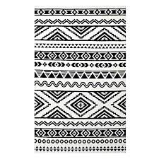 black and white striped bathroom mat bath rug rugs furniture outstanding geometric tribal area r