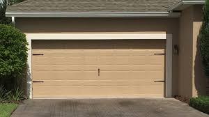 2 car garage door with colonial accents