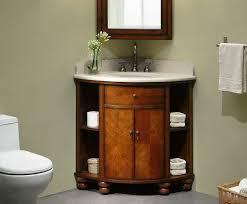 corner bathroom vanity sink. carlton 37 inch corner bathroom vanity cherry veneer finish sink