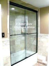 installing a shower door how to install glass shower doors on bathtub how to install shower