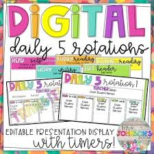Daily 5 Anchor Charts 2nd Grade Daily 5 Worksheets Teaching Resources Teachers Pay Teachers