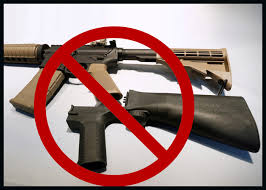 Bump stock definition, a replacement gunstock that enables a semiautomatic rifle to discharge bullets at a much higher rate of fire, nearly that of a fully automatic machine gun. Bump Stocks Used In Mass Shootings Banned