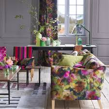 Designers Guild Darly Surimono In 2019 Florals Designers Guild Floral Fabric